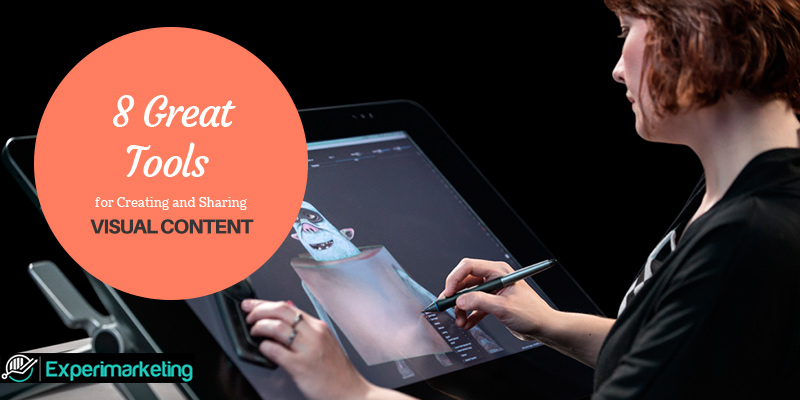 8 Great Tools for Creating and Sharing Visual Content