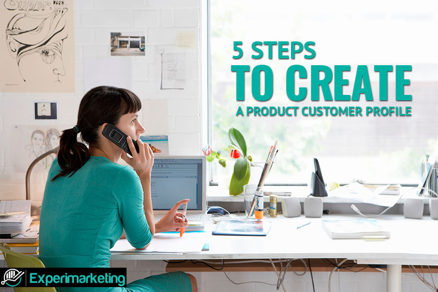 Steps to create a customer profile